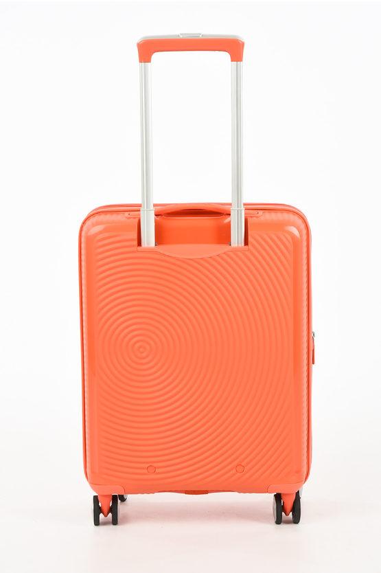 SOUNDBOX Cabin Trolley 55cm 4W Expandable Spicy Peach