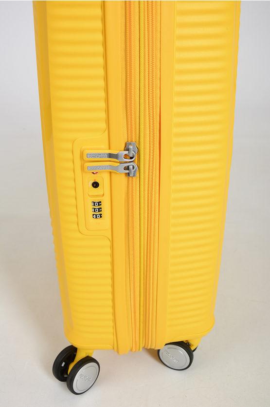 SOUNDBOX Cabin Trolley 55cm 4W Expandable Yellow