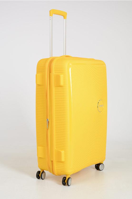 SOUNDBOX Large Trolley 77cm 4W Expandable Yellow
