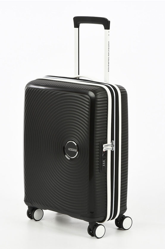 SOUNDBOX Trolley Cabina 55cm 4R Espandibile Nero/bianco