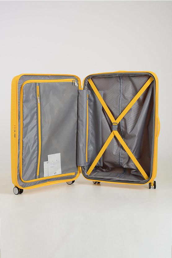 SOUNDBOX Trolley Grande 77cm 4R Espandibile Giallo