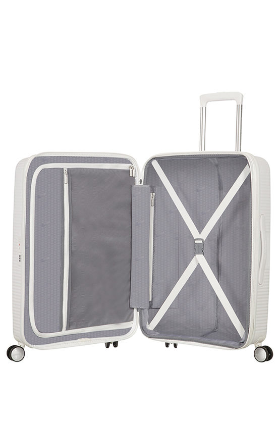 SOUNDBOX Trolley Medio 67cm 4R Espandibile Bianco