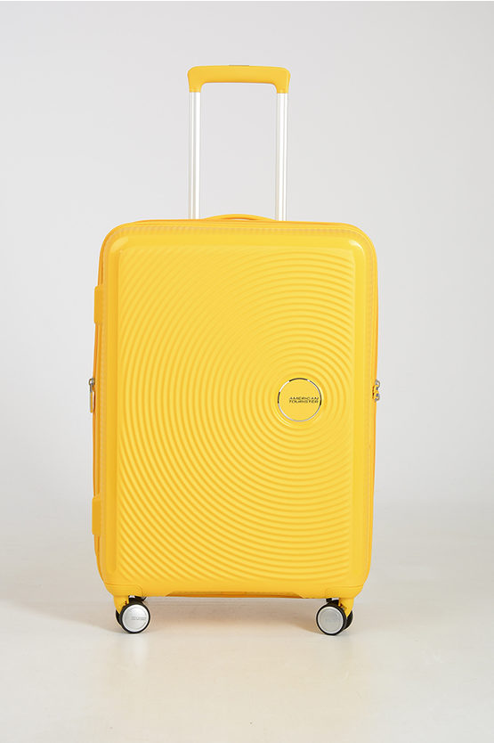 SOUNDBOX Trolley Medio 67cm 4R Espandibile Giallo