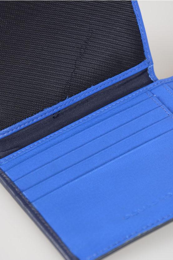 SPLASH Leather Wallet Black
