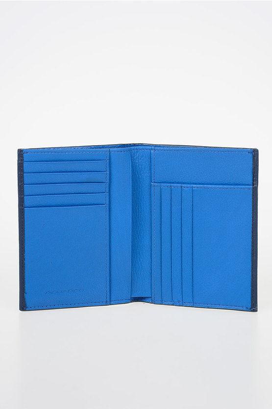 SPLASH Leather Wallet Blue
