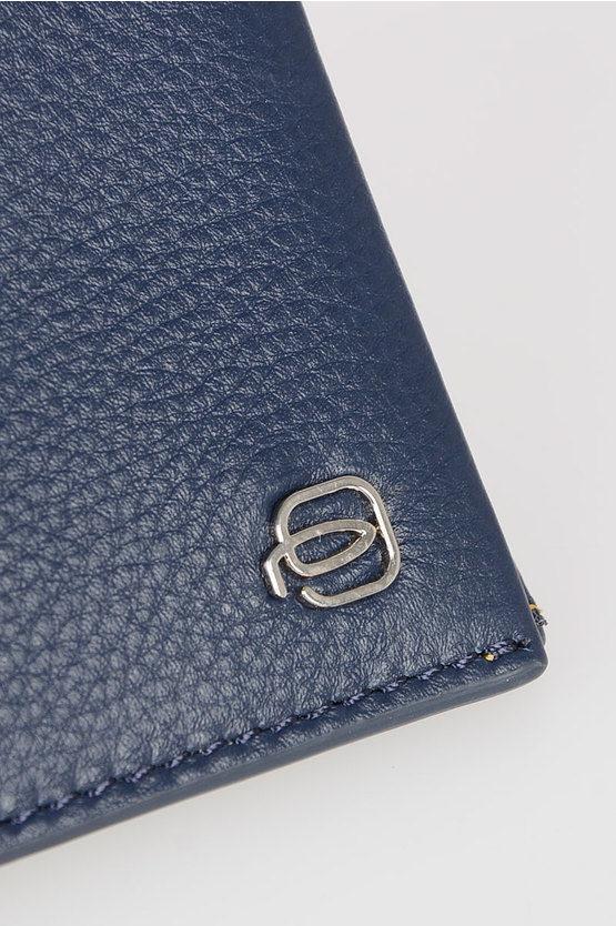 SPLASH Portafogli in Pelle Blu