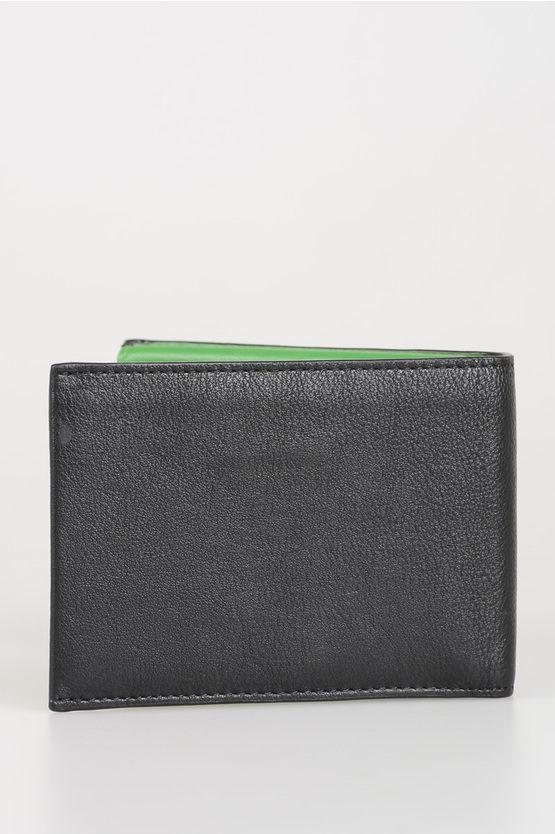 SPLASH Portafoglio in Pelle nero