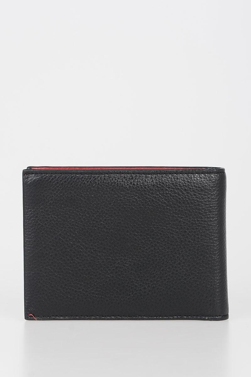 Piquadro SPLASH Portafoglio in Pelle Nero uomo - Cuoieria Shop On-line 8ed1c1a5356