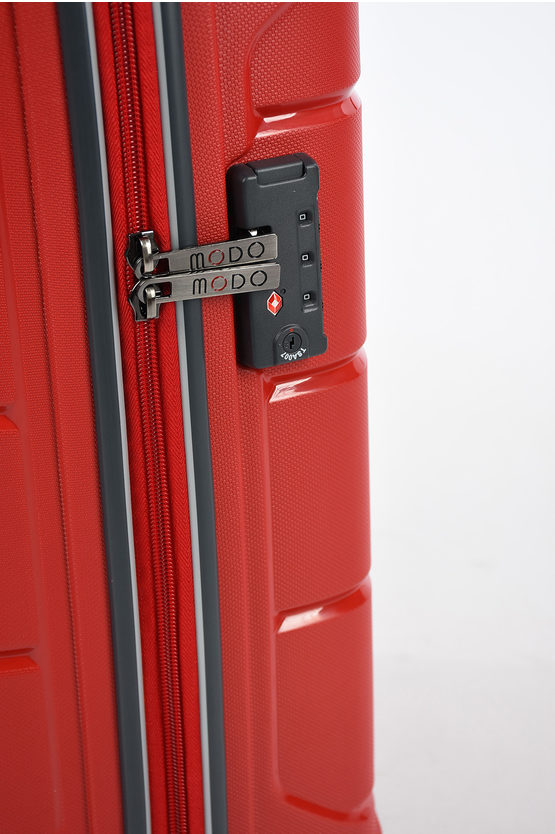 STARLIGHT 2.0 Cabin Trolley 55cm 4W Red