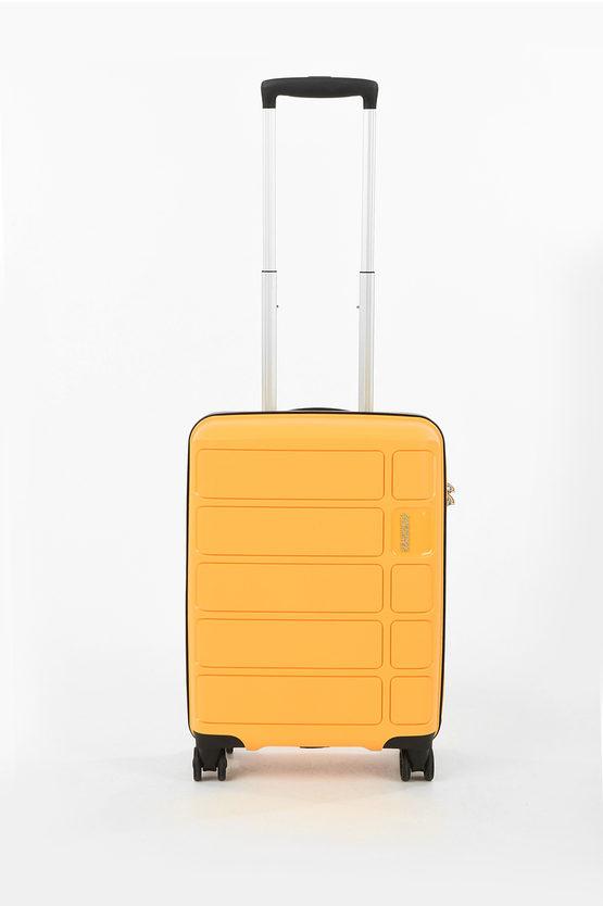 SUMMER SPLASH Cabin Trolley 55cm 4W Yellow