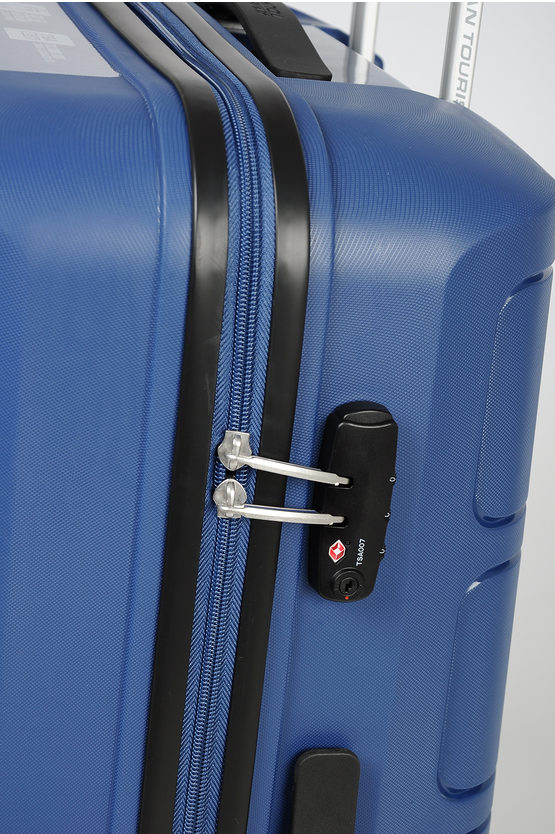 SUMMER SPLASH Large Trolley 77cm 4w Blue