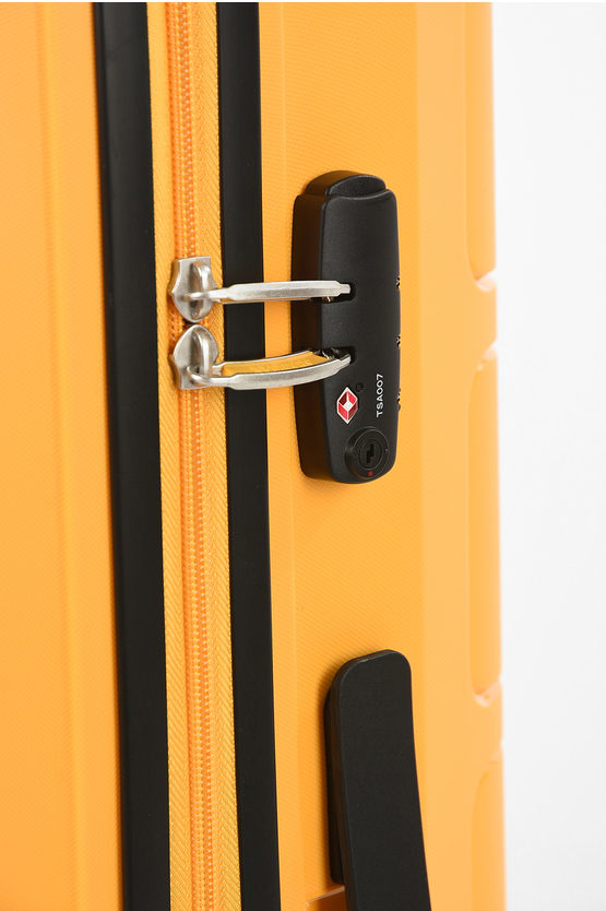 SUMMER SPLASH Large Trolley 77cm 4w Yellow
