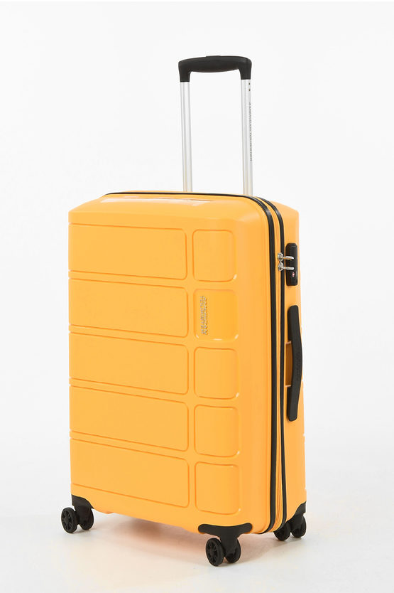 SUMMER SPLASH Medium Trolley 67cm 4W Yellow
