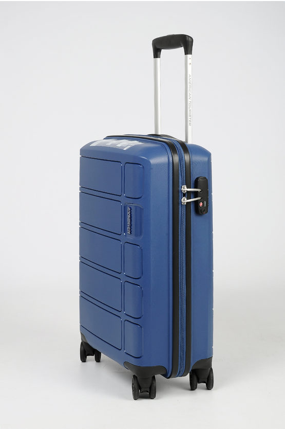 SUMMER SPLASH Trolley Cabina 55cm 4r Blu