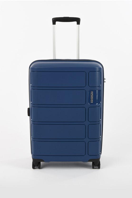 SUMMER SPLASH Trolley Medio 67cm 4R Blu
