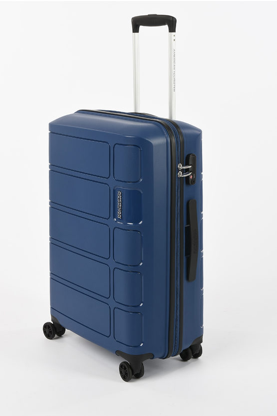 SUMMER SPLASH Trolley Medio 67cm 4R Blu