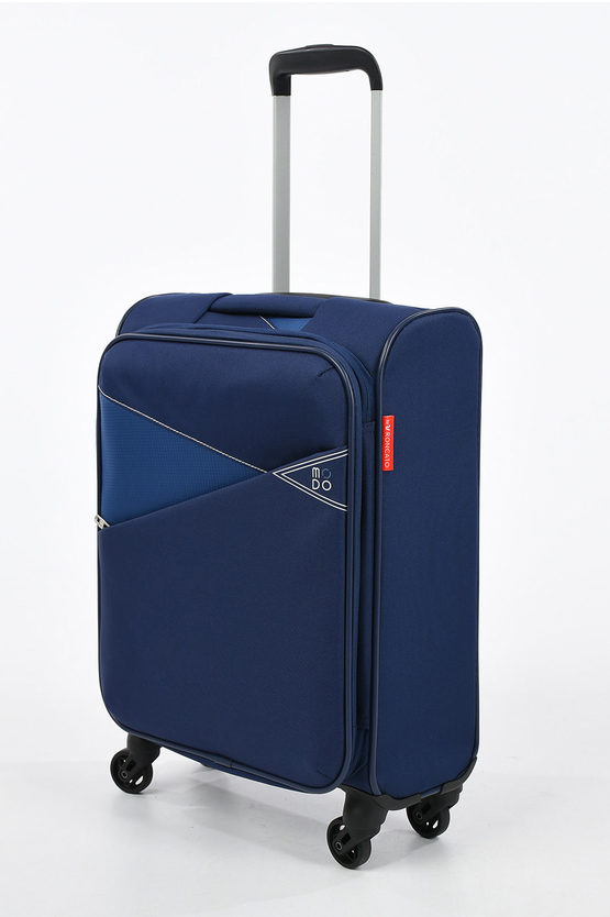 THUNDER Cabin Trolley 55cm 4W Expandable Dark Blue