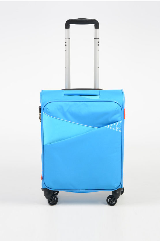 THUNDER Cabin Trolley 55cm 4W Expandable Sky