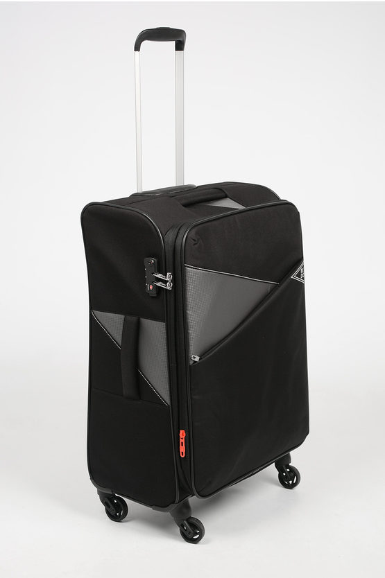 THUNDER Medium Trolley 67cm 4W Expandable Black