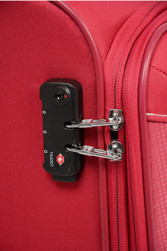 THUNDER Trolley Cabina 55cm 4R Espandibile Rosso