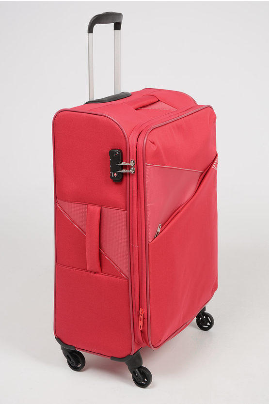 THUNDER Trolley Soft Medio 67cm Espandibile 4R Rosso