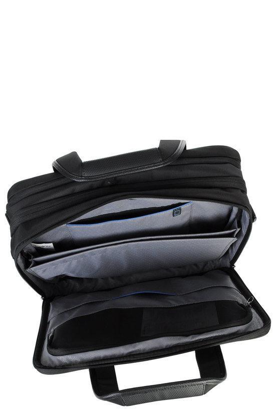TRIFORCE Cartella porta PC 16'' Espandibile Nero