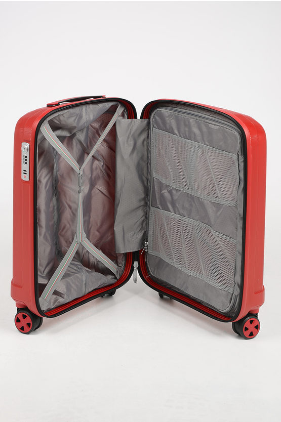 UNICA Cabin Trolley 55cm 4W Red
