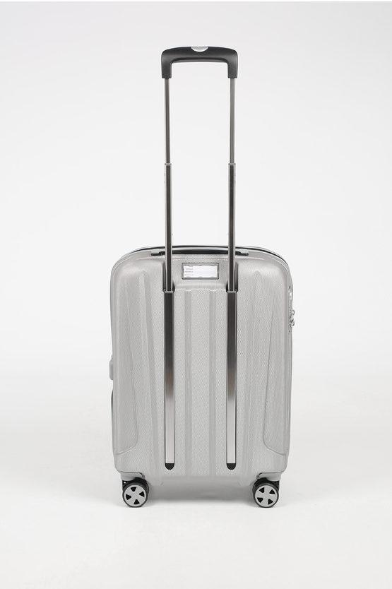 UNICA Cabin Trolley 55cm 4W Silver