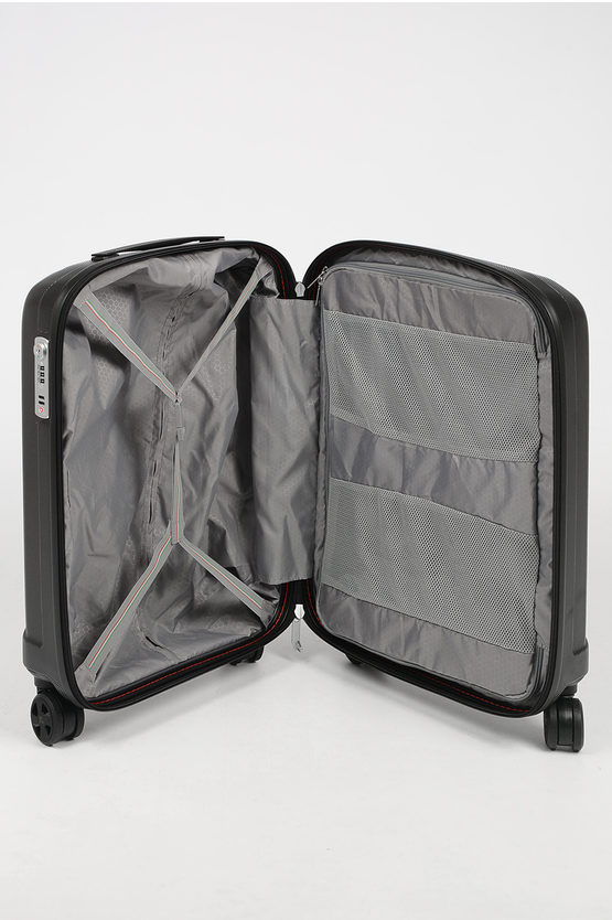 UNICA Trolley Cabina 55cm 4R Nero