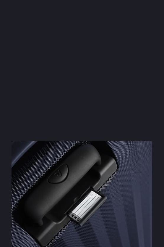 UNO ZSL PREMIUM Trolley Cabina 55cm 4R Blu