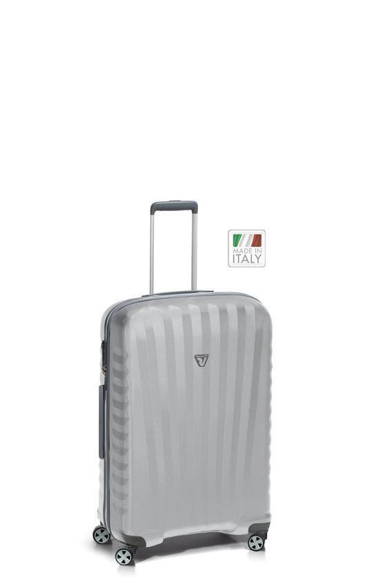 UNO ZSL PREMIUM Trolley Medio 72cm 4R Argento