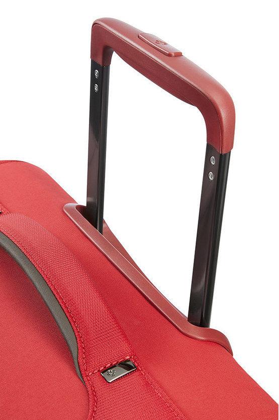 UPLITE Trolley Medio 67cm 4R Espandibile Rosso