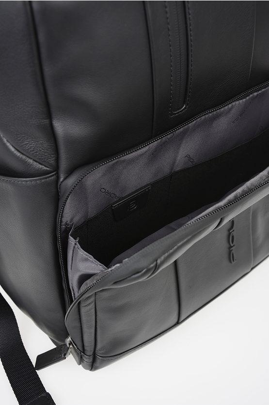 URBAN Cartella In Pelle per Notebook Nero