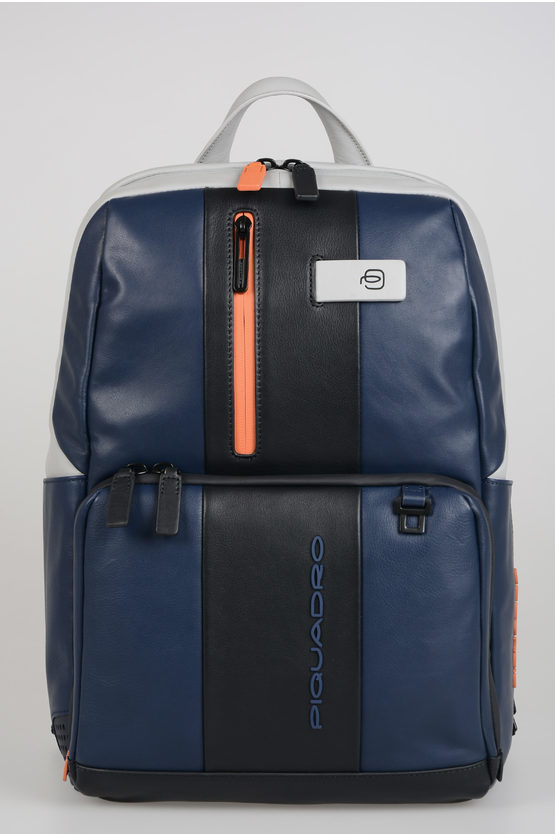 URBAN Leather Back Pack Blue