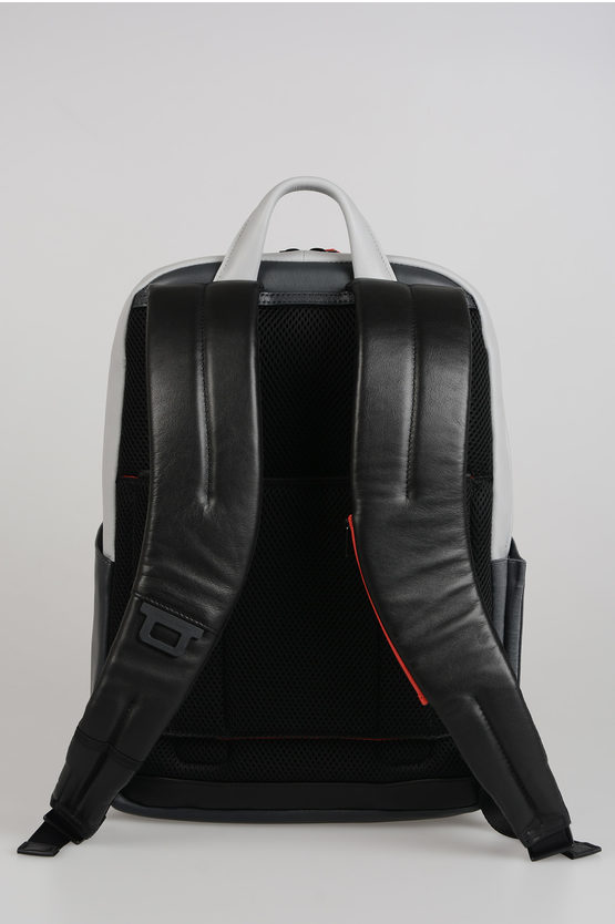 URBAN Leather Back Pack Grey