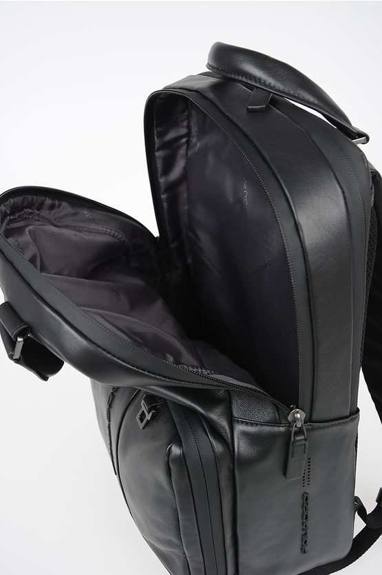 URBAN Leather Backpack Black