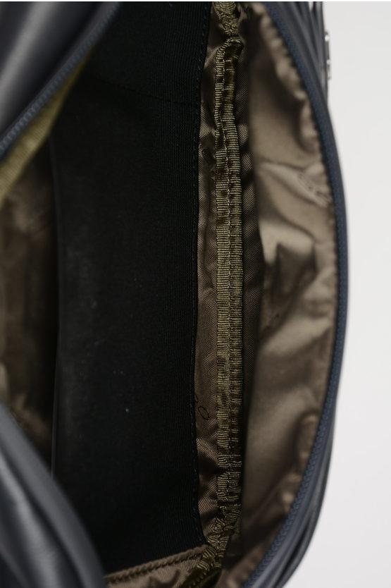 URBAN Marsupio in Pelle Blu