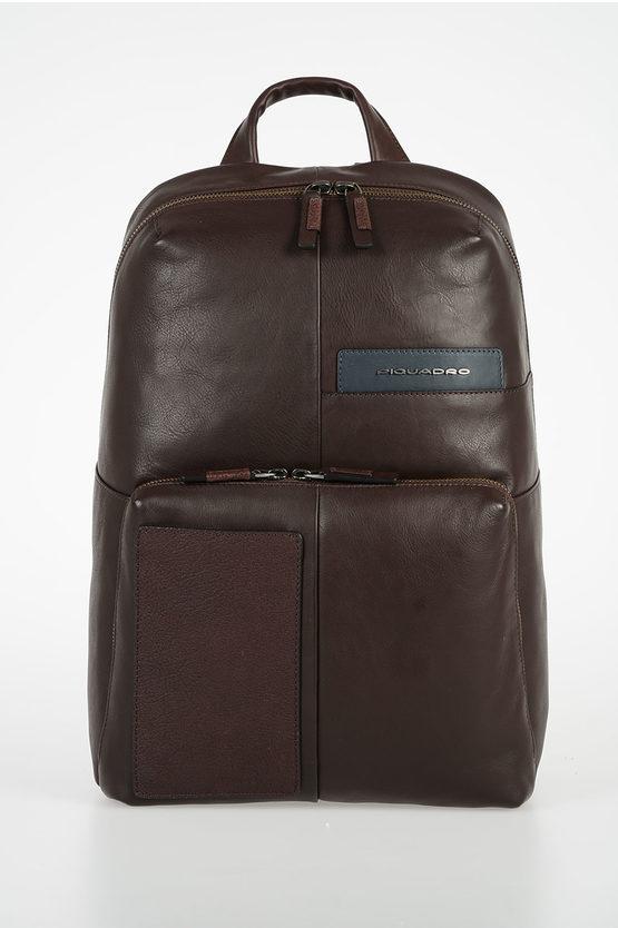 VANGUARD Leather Backpack Brown