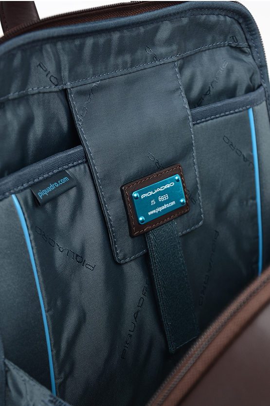 VANGUARD Leather Backpack for Notebook Ipad  Dark Brown
