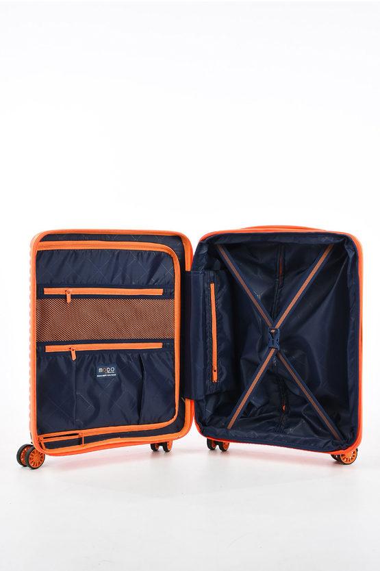VEGA Cabin Trolley 55cm 4W Expandable Orange