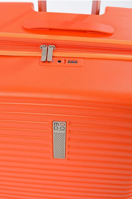 VEGA Trolley Grande 76cm 4R Espandibile Arancio