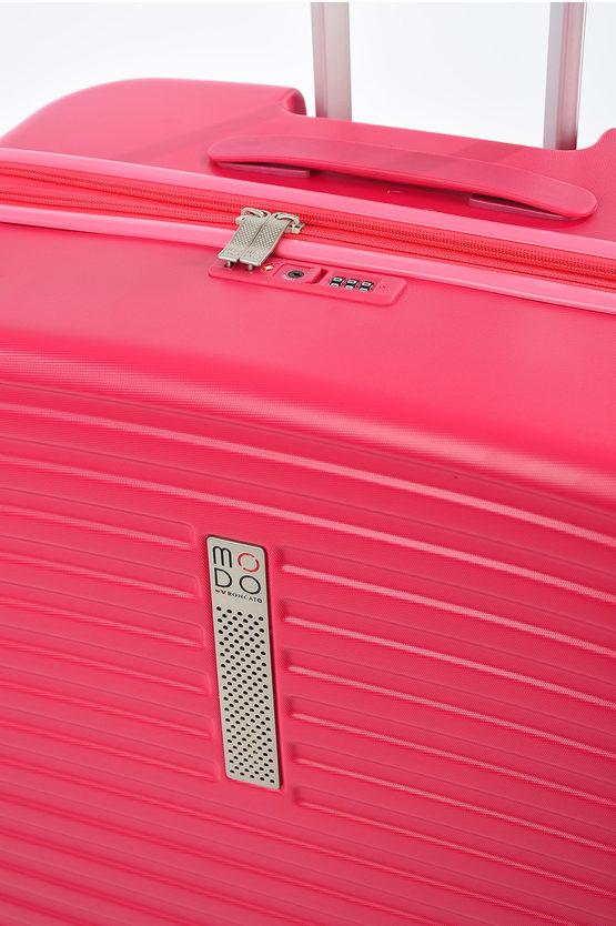 VEGA Trolley Grande 76cm 4R Espandibile Rosa