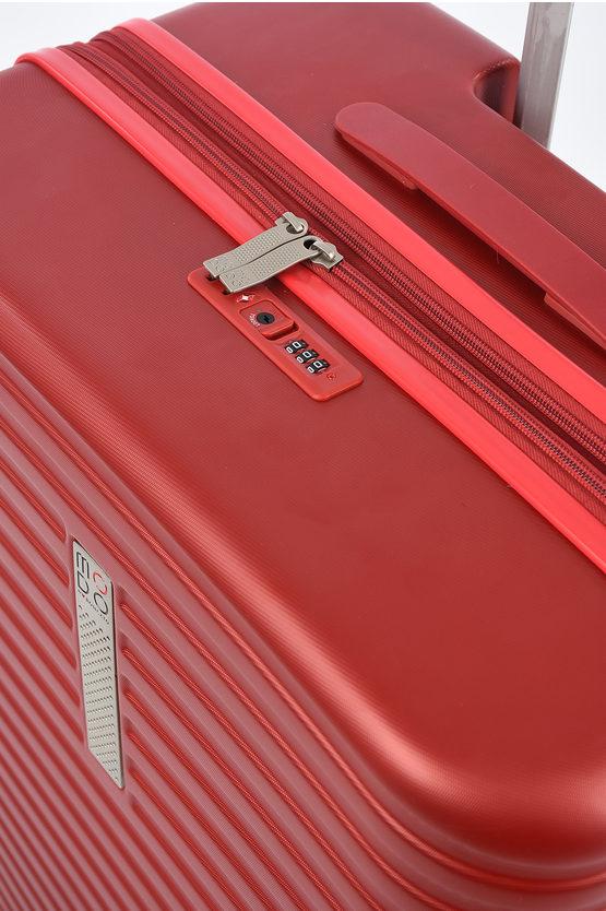 VEGA Trolley Grande 76cm 4R Espandibile Rosso