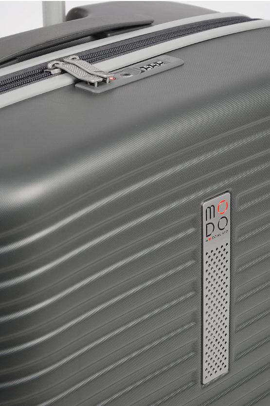 VEGA Trolley Medio 66cm 4R Espandibile Antracite
