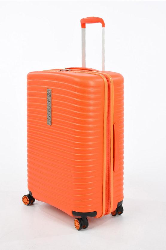 VEGA Trolley Medio 66cm 4R Espandibile Arancio