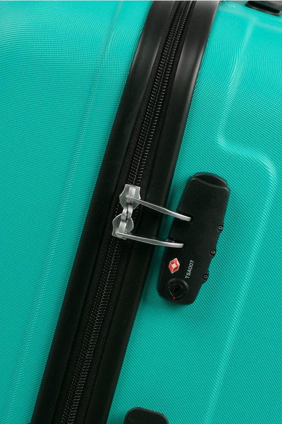 VISBY Trolley Grande Rigido  76cm 4R Spinner Acqua