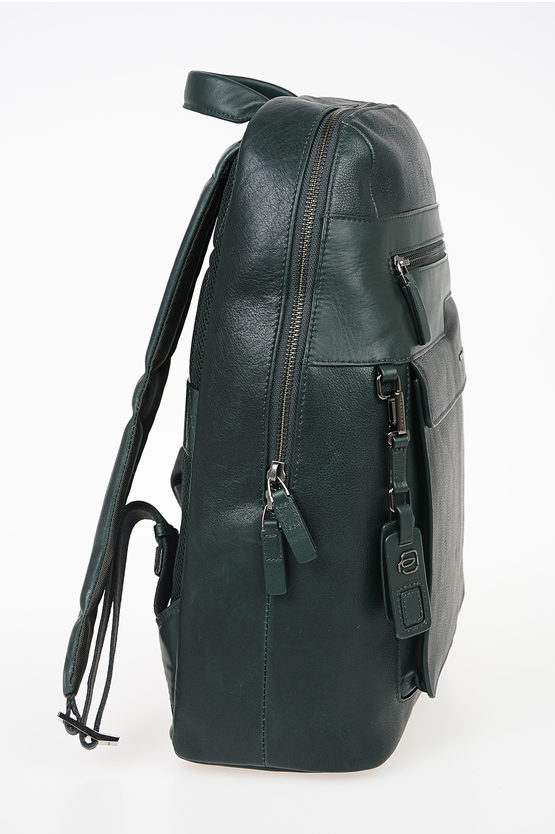 VOSTOK Leather Backpack Green