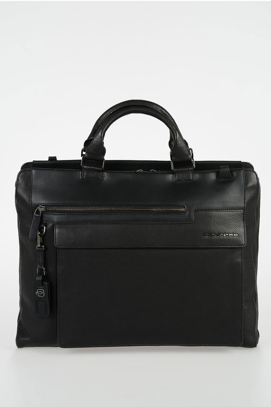VOSTOK Leather Business Bag Black