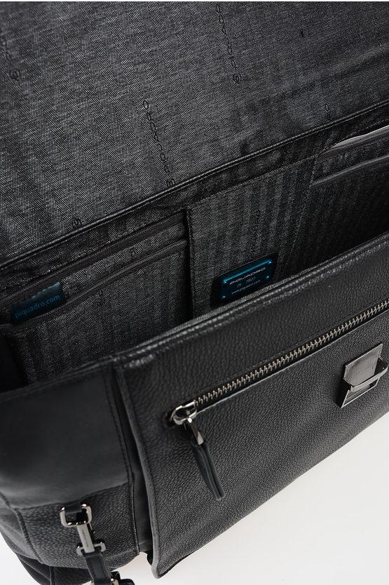 VOSTOK Leather Business Bag Black