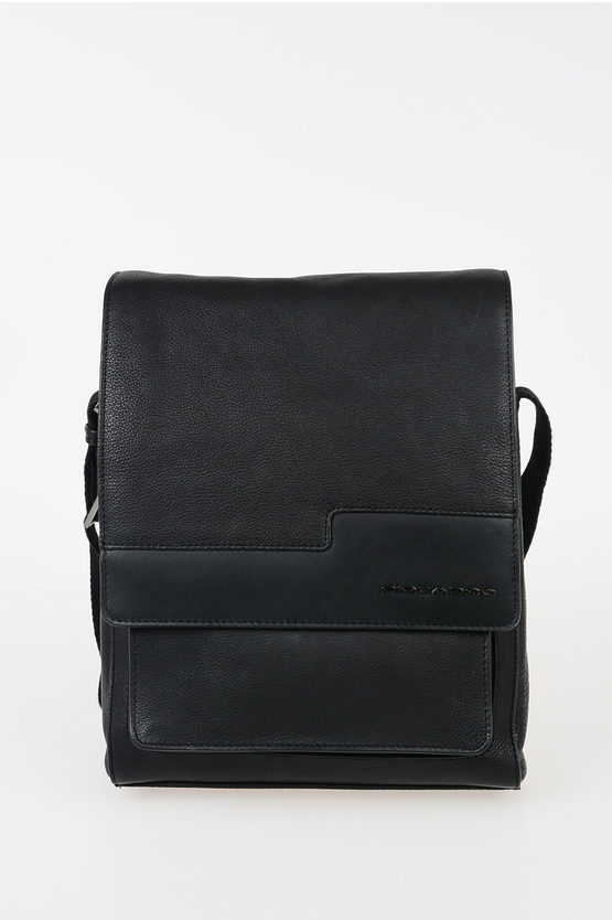 VOSTOK Leather Crossbody Bag Black